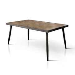 Modern Kitchen Table Ikea Step Stool Buy 6 Mid Century Dining Room Tables Online At Bradensbrook 64 Inch Dark Brown By Foa Grey