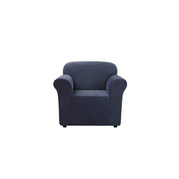 sure fit stretch stripe 2 piece t cushion sofa slipcover sofar sounds dallas ultimate chenille 1-piece chair ...