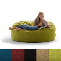 Foam Bean Bag Chair Poly Cotton Covers For Sale Fufsack Big Joe Lux King Textured Polyester And Memory