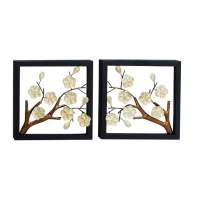 Benzara Metal Wall Decor (Set of 2) - Free Shipping Today ...