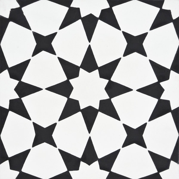 https www overstock com home garden medina in white and black handmade 8x8 in moroccan tile pack of 12 13097385 product html
