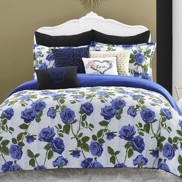 Shop Betsey Johnson Regal Roses Cotton Comforter Set