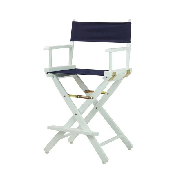 directors chair white nat's fishing broken shop frame 24 inch director s free shipping today x27
