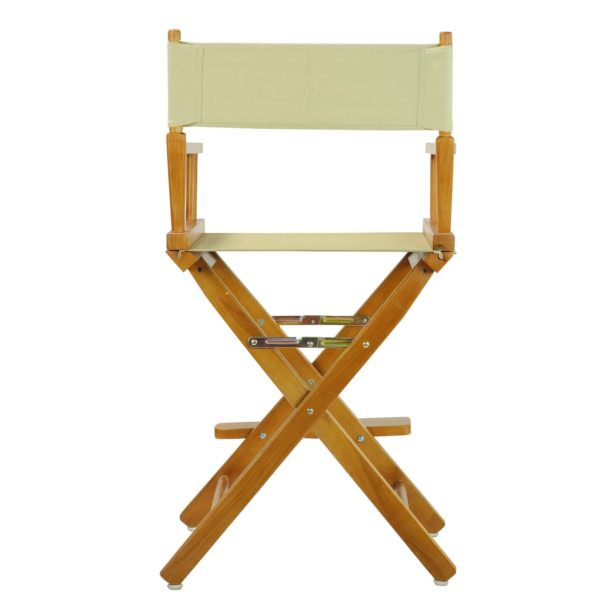 counter height directors chair upholstered chairs dining honey oak frame 24 inch director 39s ebay