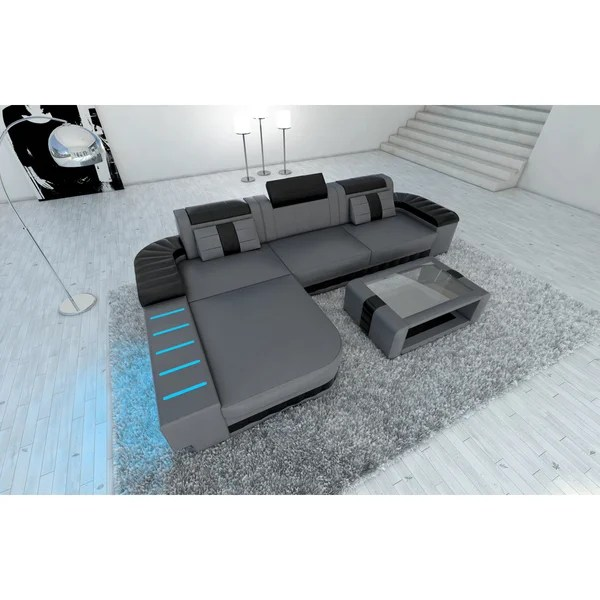 sectional sofas boston leather sofa on chrome legs shop design led lights l shaped free shipping today overstock com 13250972