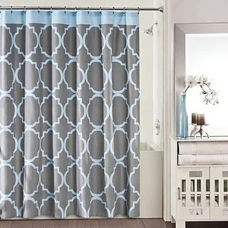 Grey Shower Curtains Overstock Com Vibrant Fabric Bath Curtains