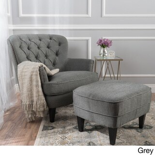 living room chair with ottoman clearance outdoor cushions buy sets chairs online at overstock com our best furniture deals