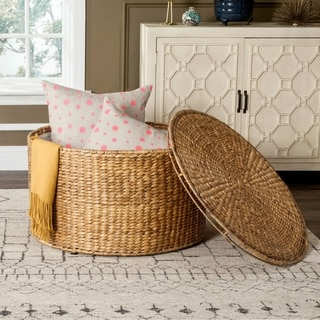 rattan living room chair pottery barn rooms wicker furniture find great deals shopping safavieh jesse storage coffee table