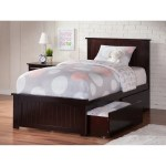 Nantucket Twin Xl Platform Bed With Matching Foot Board With 2 Urban Bed Drawers In Espresso On Sale Overstock 13370559