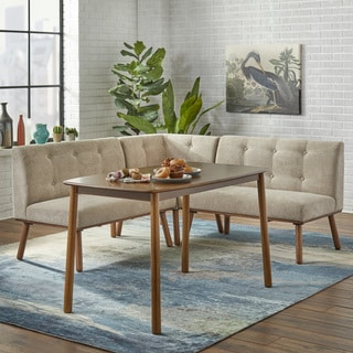 buy living room furniture online white tables for sets at overstock com our best simple 4 piece playmate nook dining set
