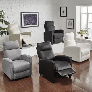 fabric living room chairs design 2018 buy white online at overstock com our best saipan modern and leather recliner club chair inspire q