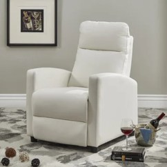Overstock Com Chairs Race Car Seat Office Chair Buy White Living Room Online At Our Best Saipan Modern Fabric And Leather Recliner Club Inspire Q