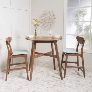 high top table chair set wholesale bulk covers buy bar pub sets online at overstock com our best dining carson carrington lund 3 piece wood counter height round