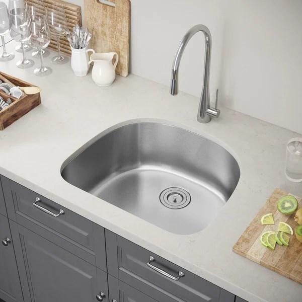 24 kitchen sink stainless steel shop exclusive heritage x 21 single bowl undermount