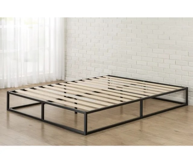 Shop Priage By Zinus Platforma Metal 10 Inch Queen Size Bed Frame Free Shipping Today Overstock 13455537