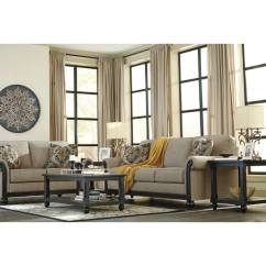 Traditional Sofa Sleeper Wooden Set Manufacturers In India Shop Signature Design By Ashley Blackwood Taupe Queen