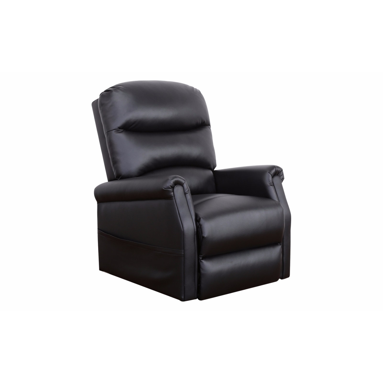 Leather Lift Chairs Classic Plush Bonded Leather Power Lift Recliner Living
