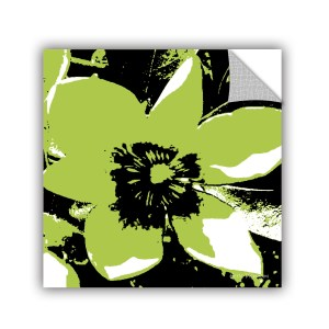 ArtAppealz Herb Dickinson's 'Blooming Green' Removable Wall Art Mural
