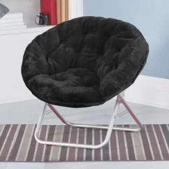 Double Saucer Chair Black Pool Lift Shop Faux Fur On Sale Free Shipping Today Overstock Com 13554886