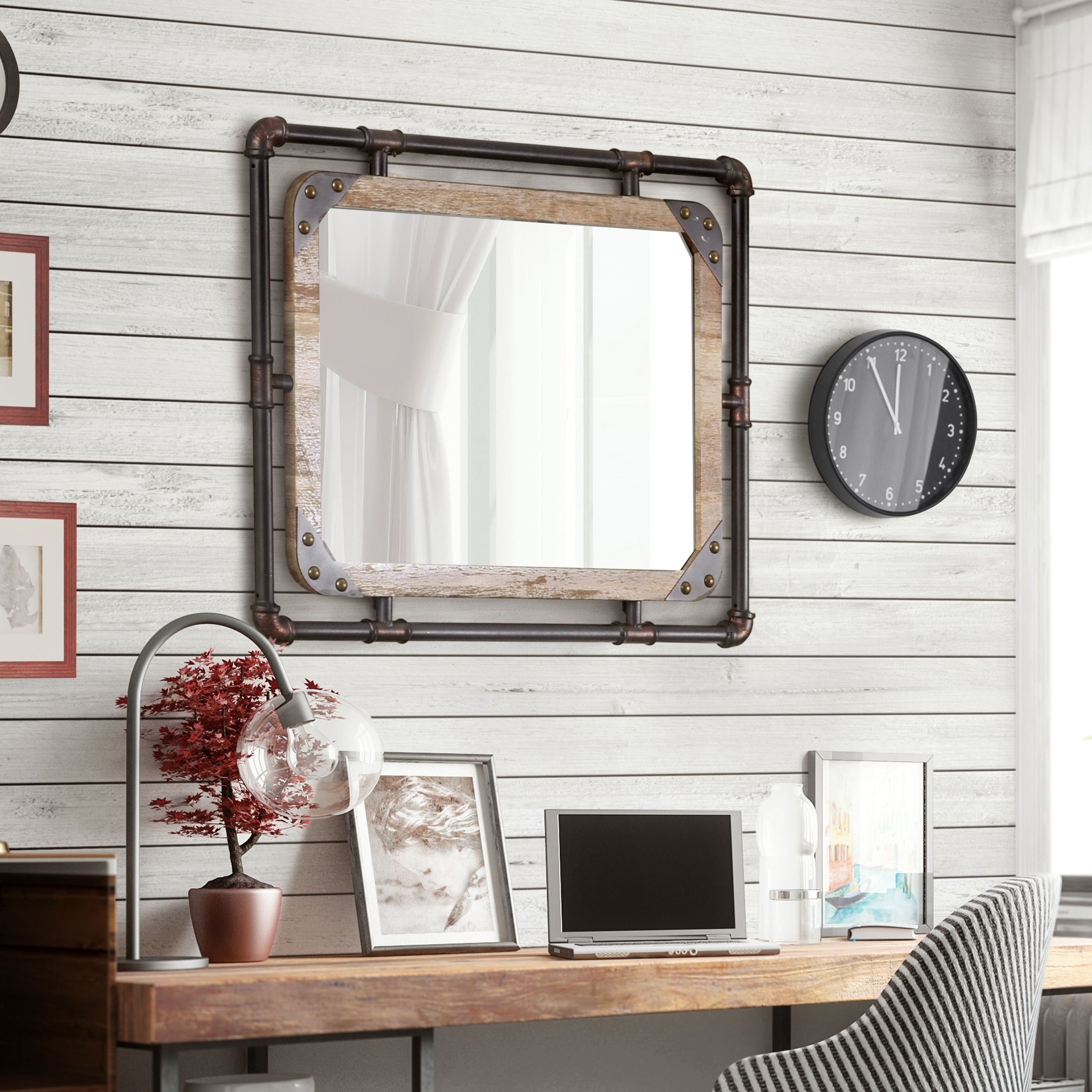mirror for living room wall black and white design buy mirrors online at overstock our best decorative accessories deals