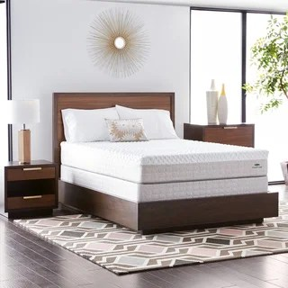 Natures Rest Firm Talalay 10 Inch California King Size Latex Mattress Set