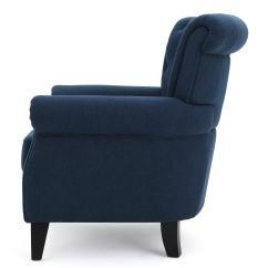 Tafton Club Chair Custom Covers Ikea Merritt High Back Tufted Fabric By Christopher