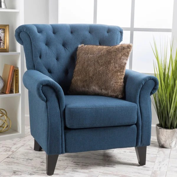 christopher knight club chair staples task canada shop merritt high back tufted fabric by home