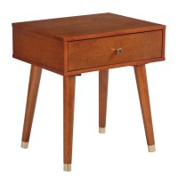 Shop Cupertino Mid-Century Accent Side Table - Free ...