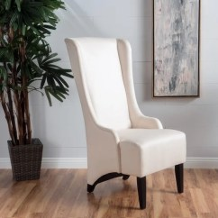 High Back Dining Chair Gym Walmart Shop Callie Fabric By Christopher Knight Home