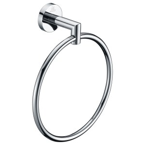 ANZZI Caster 2 Series Towel Ring in Polished Chrome