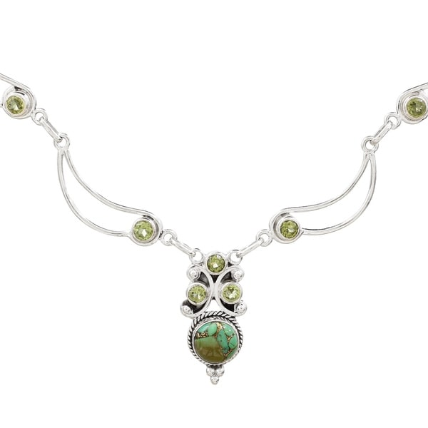 Shop Handmade Sterling Silver 'Radiant Princess in Green