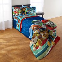 Shop Paw Patrol Puppy Hero Twin 4-piece Bed in a Bag with ...