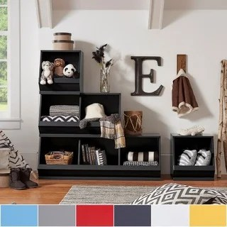 living room toy box swag valances for buy kids storage boxes online at overstock com our best riley modular stacking bins by inspire q junior