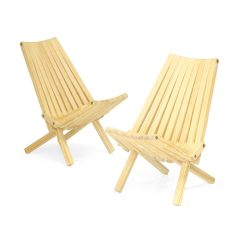 Wooden Folding Chairs For Sale Red Side Chair Shop Unfinished Wood X36 Set Of 2 On Free Shipping Today Overstock Com 13995725