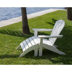 Poly Wood Adirondack Chairs Modern Chaise Lounge Shop Polywood Chair 2 Piece Set Free Shipping Today Overstock Com 14001721