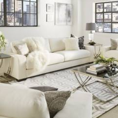 White Sofa Set Living Room Traditional Furniture Buy Sofas Couches Online At Overstock Com Our Best Lionel Cotton Down Filled Extra Long Deep Seat By Inspire Q Artisan
