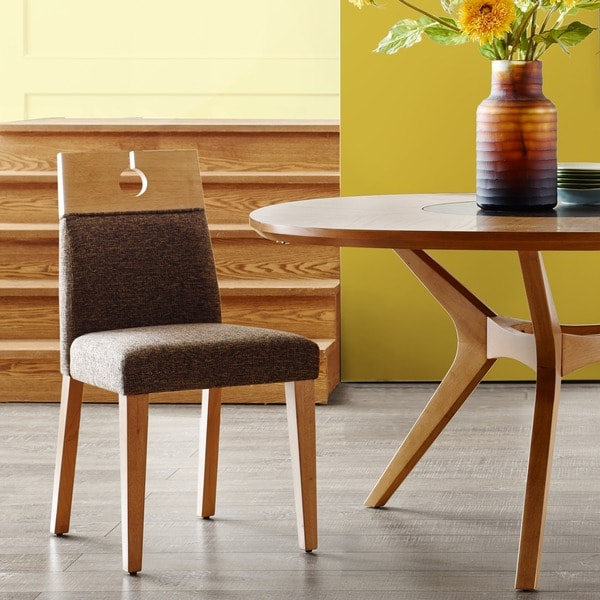 dark brown wooden dining chairs chair covers images shop ink ivy metro natural set of 2