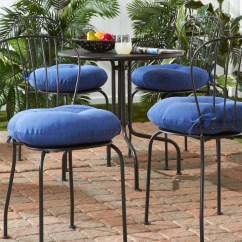 16 Inch Round Chair Cushions Oxo Tot High Reviews Shop 18 Outdoor Solid Bistro Cushion Set