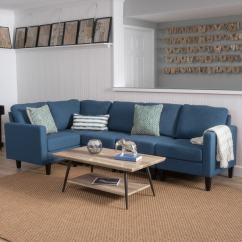 Overstock Sofa Pearl Shop Zahra 5 Piece Fabric Sectional By Christopher Knight Home