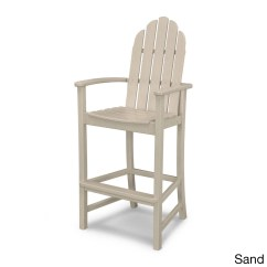 Polywood Classic Adirondack Chair Folding Portable High Bar Ebay