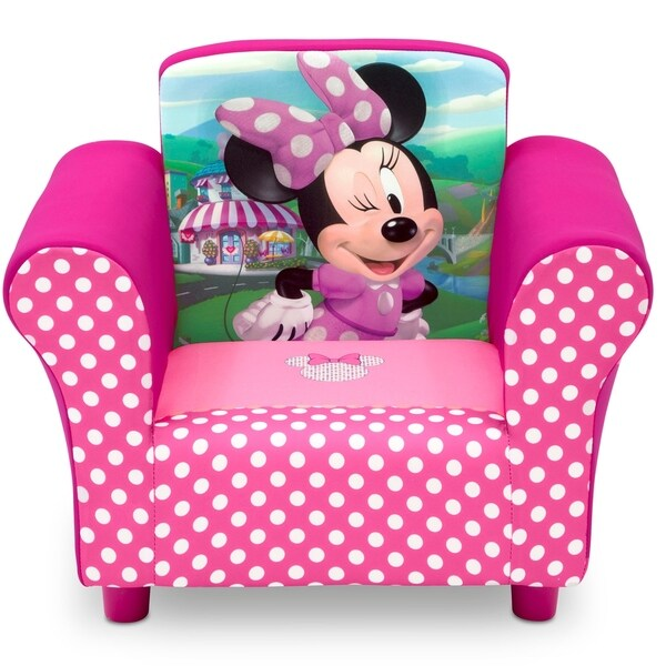 minnie mouse upholstered chair canada outdoor cushions sunbrella fabric shop disney ships to