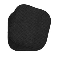 Black Chair Pads Covers For Dining Room Chairs Buy Non Slip Cushions Online At Overstock Com Memory Foam Kitchen Pad Cushion Set Of 2