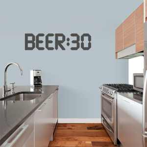 Beer 30 Wall Decal