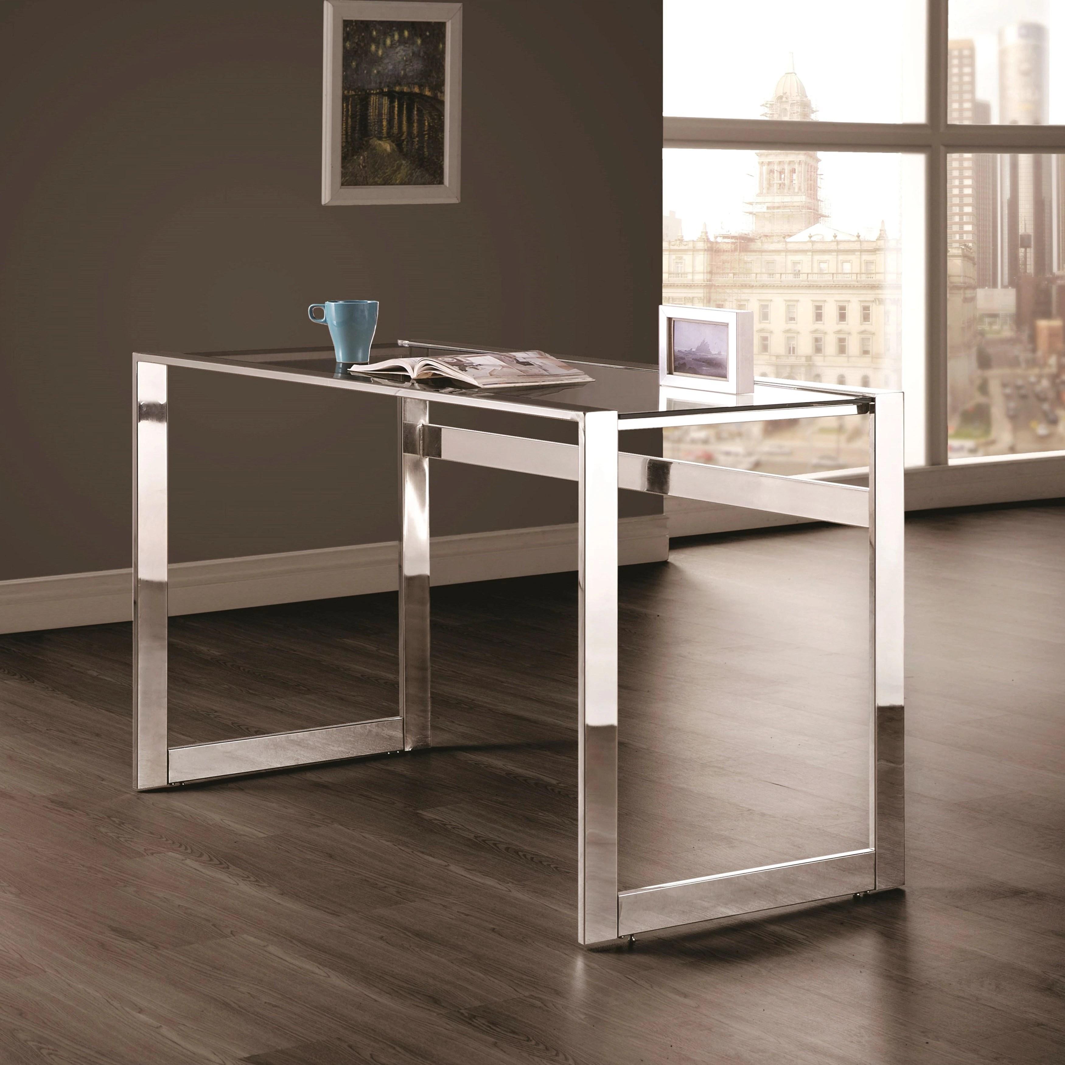 modern art deco design home office writing computer desk