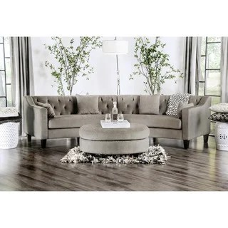 circular couches living room furniture center table cloth buy curved sectional sofas online at overstock our best customer ratings