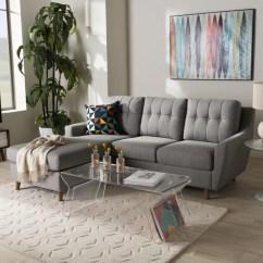 Bobkona Sofa Set Houzz White Leather Sofas Mid-century Fabric 2-piece Sectional By Baxton Studio ...