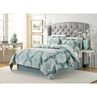 Shop Lenox Amaya Velvet Plush Comforter Set