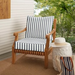 Outdoor Chair Cushions Sale Scandinavian Dining Chairs Shop Sunbrella Lido Indigo Indoor Cushion And Pillow Set