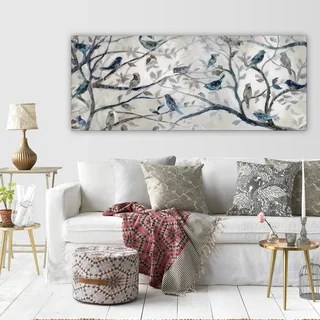 canvas prints for living room furniture rooms to go art gallery shop our best home goods deals online at overstock com wexford morning chorus wrapped wall