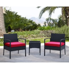 2 Chairs And Table Rattan Chair Covers For Round Back Dining Shop Dg Casa San Juan Steel Set On Sale Free Shipping Today Overstock Com 14309129